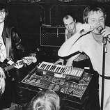 17th January 1978: Some of the members of the rock band XTC, (from left) Colin Moulding, Barry Andrews and Andy Partridge.