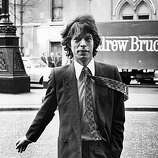3rd May 1979: Mick Jagger, singer and songwriter with British rock group the Rolling Stones, in London to appear in court over his divorce settlement.