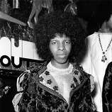 Singer Sylvester Stewart, better known as Sly Stone, leader of the popular American funk rock group Sly And The Family Stone, at the Hatchett's Club, Piccadilly, London..