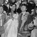 Angela King weds Eric Burdon, singer of British pop group The Animals..