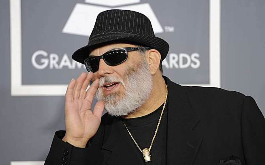 Poncho Sanchez arrives at the 53rd annual Grammy Awards on Sunday, Feb. 13, 2011, in Los Angeles. Photo: Chris Pizzello, AP