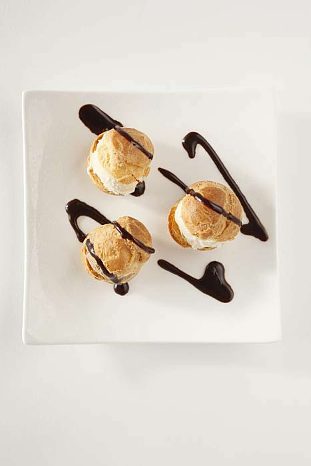 Profiteroles in San Francisco, Calif., on March 24, 2010. Food styled by Pailin Chongchitnant.