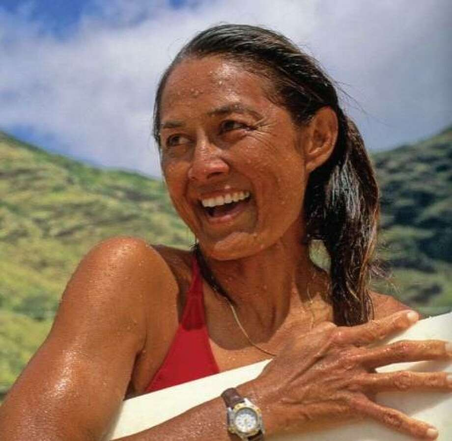 """Stories of Rell Sunn: Queen of Makaha""  celebrates the famed surfer's love of the sea and her generosity of spirit. Photo: Courtesy Bess Press"