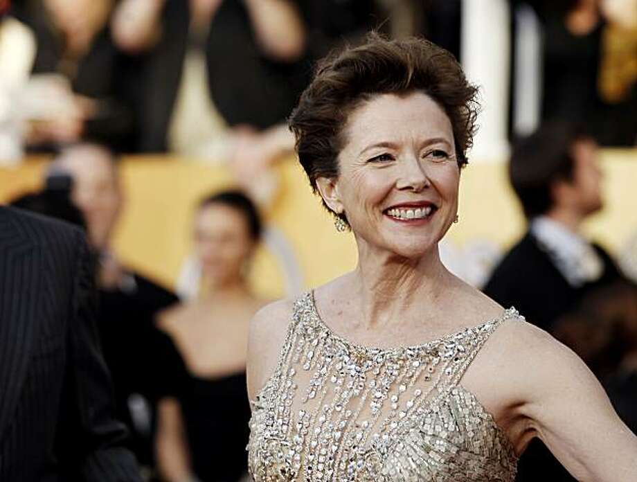 Annette Bening arrives at the 17th Annual Screen Actors Guild Awards on Sunday, Jan. 30, 2011 in Los Angeles. Photo: Matt Sayles, AP