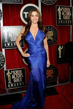 LOS ANGELES, CA - JANUARY 30:  Actress Sofia Vergara arrives at the 17th Annual Screen Actors Guild Awards held at The Shrine Auditorium on January 30, 2011 in Los Angeles, California. Photo: Kevork Djansezian, Getty Images