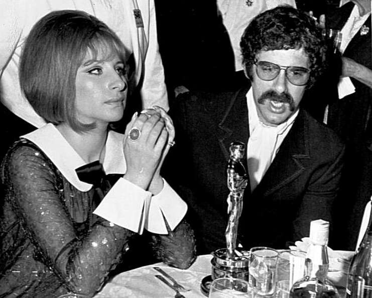 Actor Elliot Gould and his singer-actress wife Barbra Streisand attend the Academy Awards Ceremony,