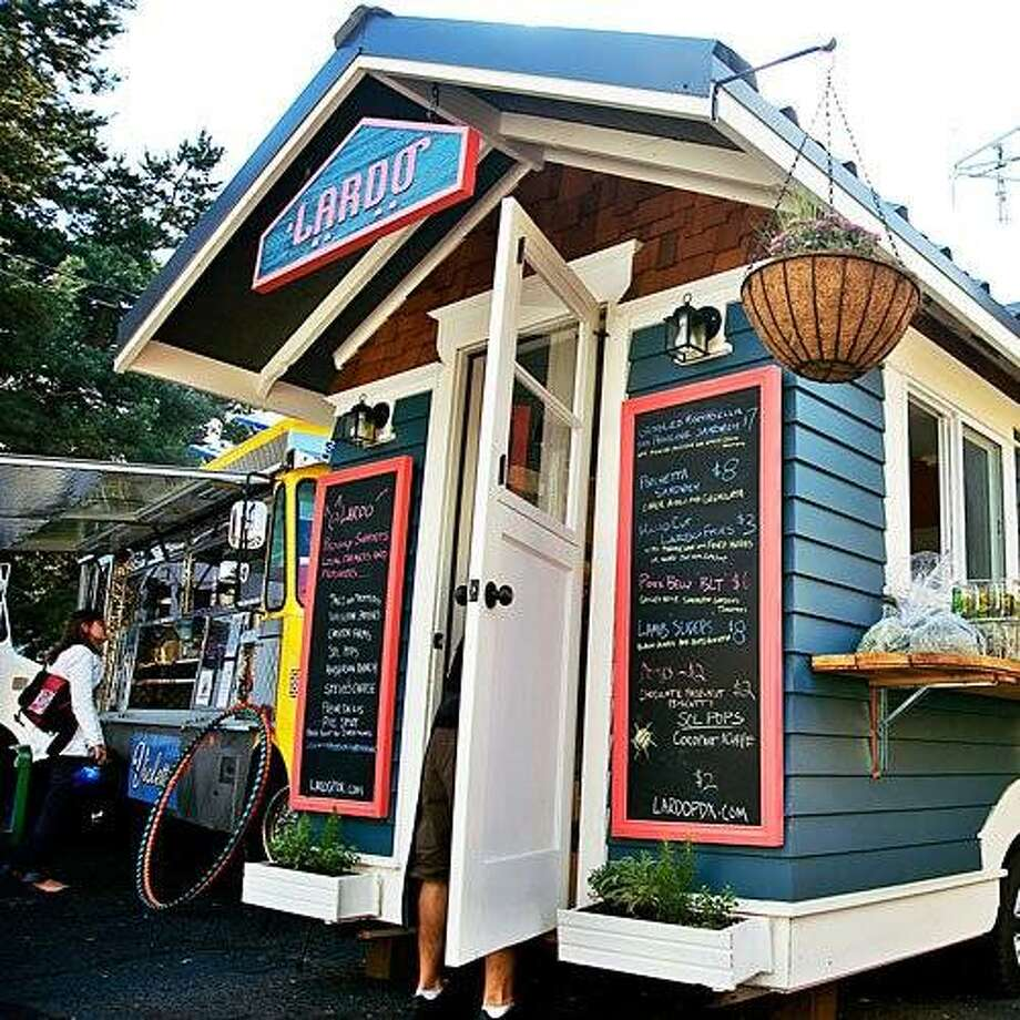 Where but Portland, the land of 600 food carts, could you open Lardo, a temple to meaty goodness that comes with a double farm-to-table pedigree? Chefs-owners Rick Gencarelli and Adam Parziale hail from the Inn at Shelburne Farms in Vermont, a top farmstead restaurant, and now serve crisp pork belly and farm egg sandwiches out of a tiny Cape Cod cottage on wheels. Photo: David Lanthan Reamer, Sunset.com