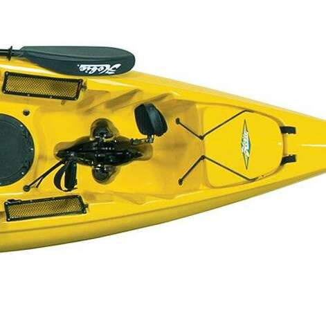 100 trends shaping our west coast lifestyle sfgate for Fishing kayak with foot pedals