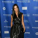 """PARK CITY, UT - JANUARY 25:  Actress Demi Moore attends """"Margin Call"""" Premiere at the Eccles Center Theatre during the 2011 Sundance Film Festival on January 25, 2011 in Park City, Utah."""