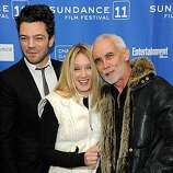 """PARK CITY, UT - JANUARY 22: (L-R) Actor Dominic Cooper, actress Ludivine Sagnier and director Lee Tamahori attend """"The Devil's Double"""" Premiere at the Eccles Center Theatre during the 2011 Sundance Film Festival on January 22, 2011 in Park City, Utah."""