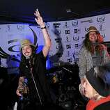 PARK CITY, UT - JANUARY 21:  Cisco Adler and The Pigeons perform at the Oakley Party on Main Street on January 21, 2011 in Park City, Utah.  (Photo by Michael Loccisano/Getty Images for Muscle Milk)