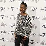 """Honoree Adepero Oduye from the film """"Pariah"""" poses at a party honoring """"7 Fresh Faces in Film"""" during the 2011 Sundance Film Festival in Park City, Utah on Friday, Jan. 21, 2011."""