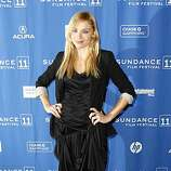 """Actress and cast member Katarina Cas poses at the premiere of """"The Guard"""" during the 2011 Sundance Film Festival in Park City, Utah on Thursday, Jan. 20, 2011."""