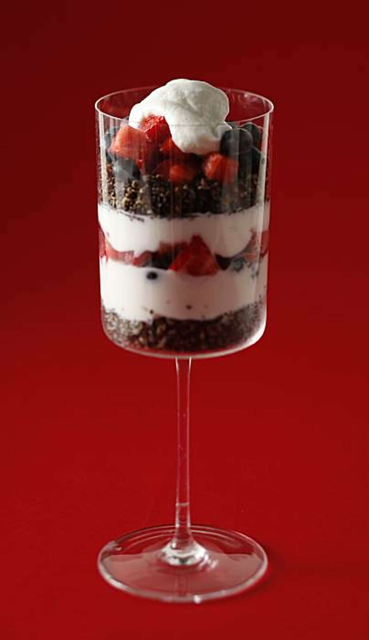 Parfait in San Francisco, Calif., on March 10, 2010. Food styled by Janny Hu.