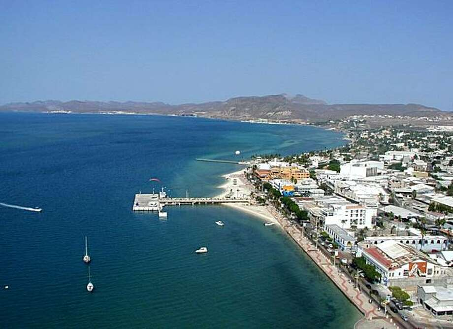 Downtown La Paz and Malecon. Photo: Courtesy Of Paraiso Del Mar