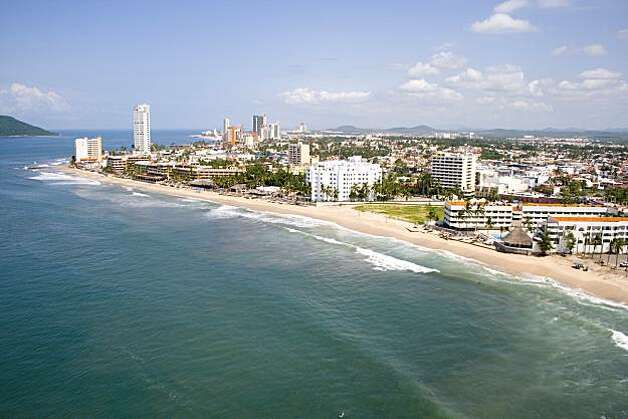 Mazatlan is equal parts traditional colonial city and resort town. The city boasts 16 miles of beaches and a revitalized historic center, where cafes, club and galleries occupy 19th century buildings.  Photo: Mazatlan Tourism Board
