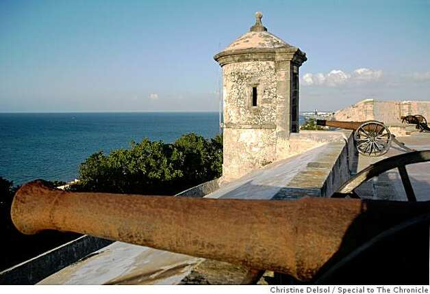 Campeche, Mexico -- Fuerte San Miguel, Campeche's southern bastion, is now an ecological park that also houses the Museo de la Cultura Maya, displaying findings from archaeological sites throughout the state of Campeche. Photo: Christine Delsol, Special To The Chronicle