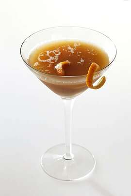 """When the Leaves Fall"" cocktail as seen in San Francisco, California, on December 7, 2010. Drink styled by Lindsay Patterson."
