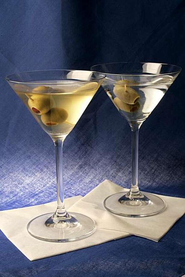 Classic martini Photo: Craig Lee, SFC