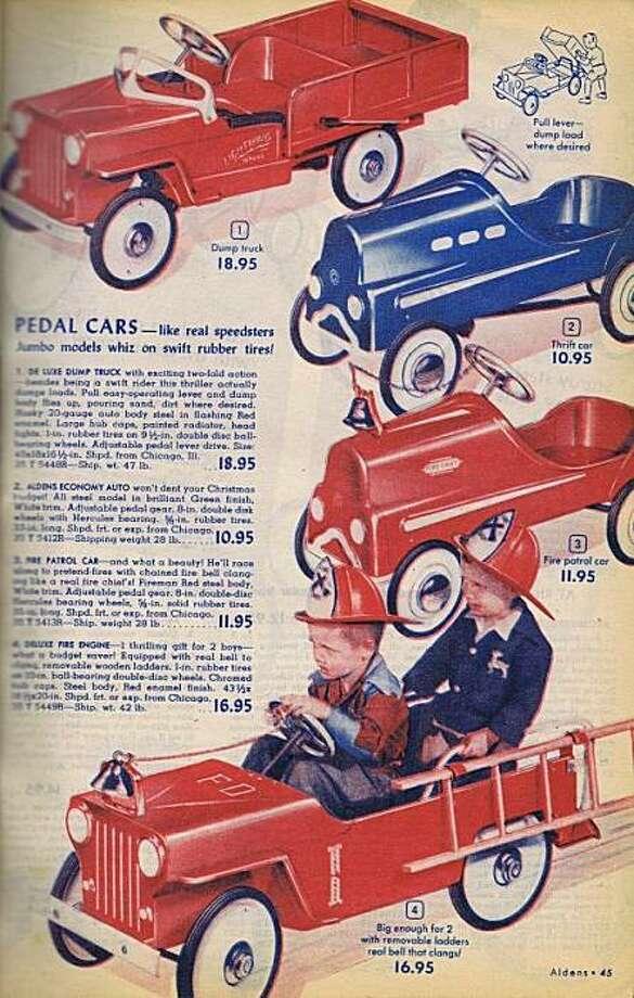 Christmas catalog 1950 Photo: Bob Bragman, Fr The Collection Of Bob Bragman