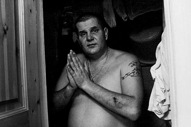 Larisa's husband Sergei after a family scandal. Photo: Anastasia Rudenko, Photo Philanthropy