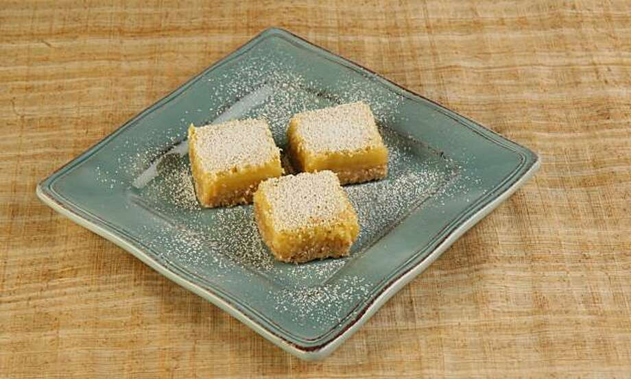 Brown Butter Lemon Square: Richer than traditional lemon squares, these get added flavor from a brown butter shortbread crust. Click here for the recipe. Photo: Thor Swift, SFC