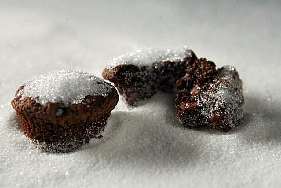 Bite-Size Chocolate Fruitcakes: These are studded with chocolate chips, candied orange peel, glace cherries and walnuts. Click here for the recipe. Photo: Chris Hardy, SFC