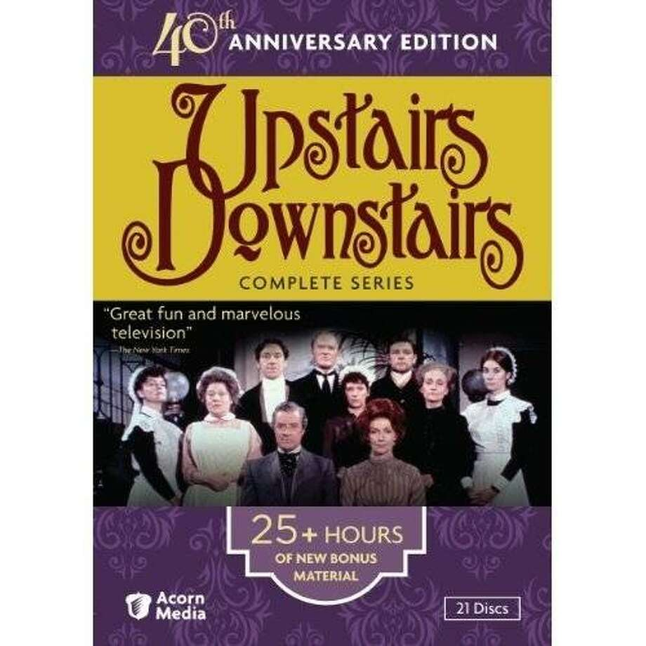 dvd cover: UPSTAIRS, DOWNSTAIRS: 40TH ANNIVERSARY EDITION Photo: Amazon.com