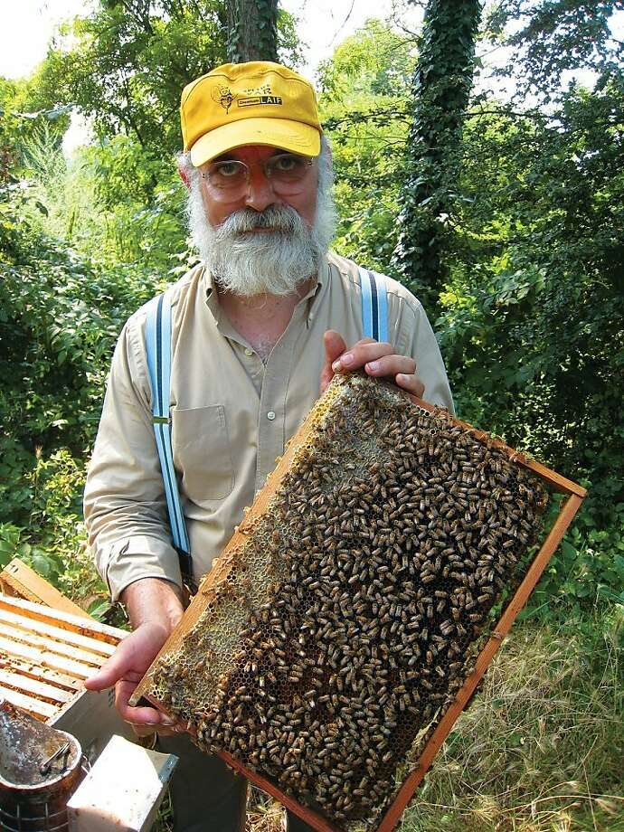 """Massimo Carpinteri, a Slow Foods Beekeeper, keeps his bees in Piedmont, Italy."" Photo: Collective Eye Productions"