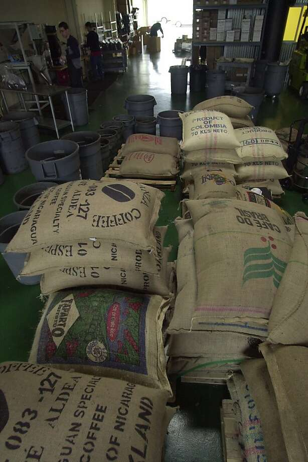 Equator Coffee, which receives bags of fair-trade beans from around the world for roasting, will open its first retail outlet at SFO. Photo: John Storey, SFC