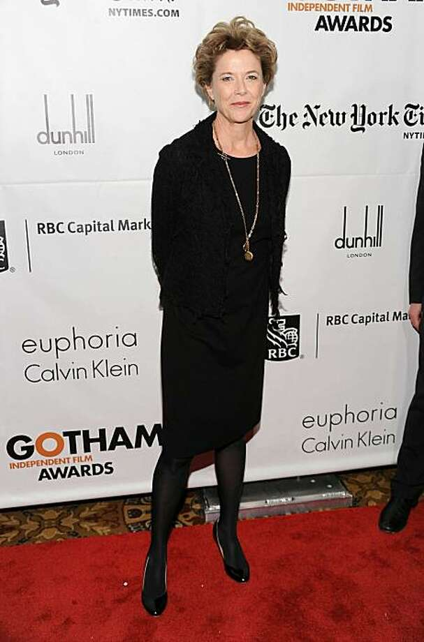 NEW YORK - NOVEMBER 29:  Actress Annette Bening attends IFP's 20th Annual Gotham Independent Film Awards at Cipriani, Wall Street on November 29, 2010 in New York City.  (Photo by Dimitrios Kambouris/Getty Images for IFP) Photo: Dimitrios Kambouris, Getty Images For IFP