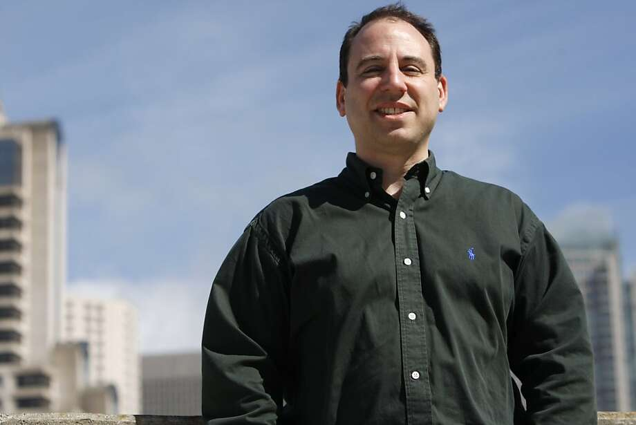 "Eric Goldman, a law professor researching high tech at Santa Clara University and an expert in ""search engine bias,"" poses for a portrait in San Francisco. Photo: Anna Vignet, The Chronicle"