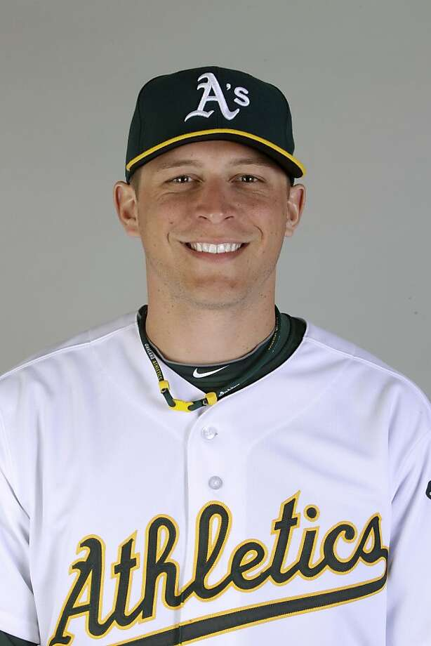 This is a 2011 photo of Ryan Sweeney of the Oakland Athletics baseball team.  This image reflects the Oakland Athletics active roster as of Thursday, Feb. 24, 2011 when this image was taken. Photo: Marcio Jose Sanchez, Associated Press