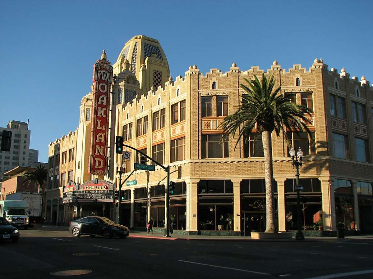 The Fox Theater in downtown Oakland.