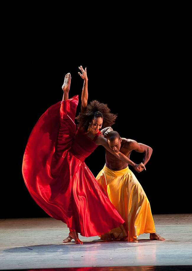 Mauro Bigonzetti's Festa Barocca Alvin Ailey American Dance Theater Photo: Christopher Duggan