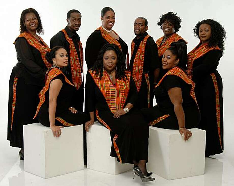 The Harlem Gospel Choir will perform at 8 p.m. April 1 at the Jewish Community Center of San Francisco. Photo: Jccsf