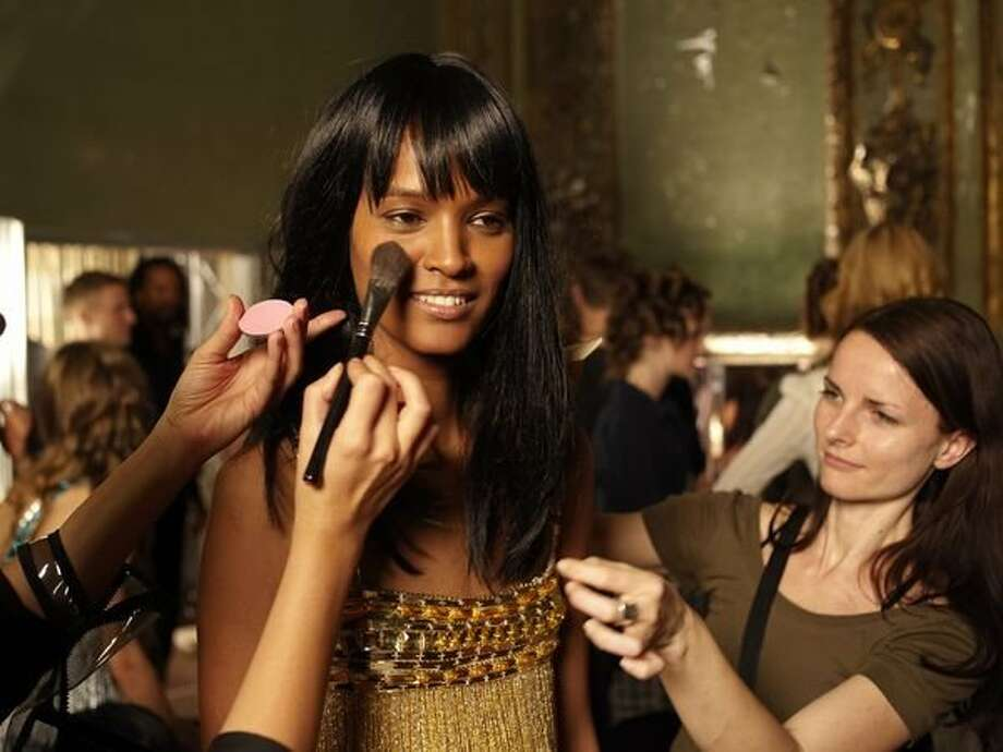 """Liya Kebede portrays model Waris Dirie in the film """"Desert Flower,"""" about a girl who fled her childhood trauma in Somalia, became homeless in London and then became one of the first international super models. Photo: Match Factory"""