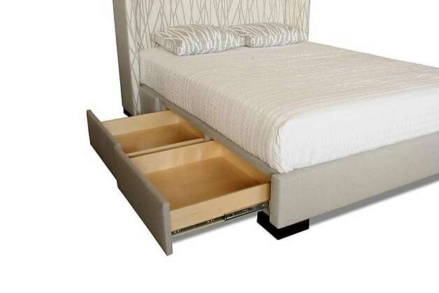 Storage bed Photo: Nathan Anthony Furniture