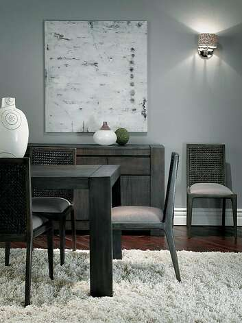 Messina dining furniture Photo: Brownstone Furniture