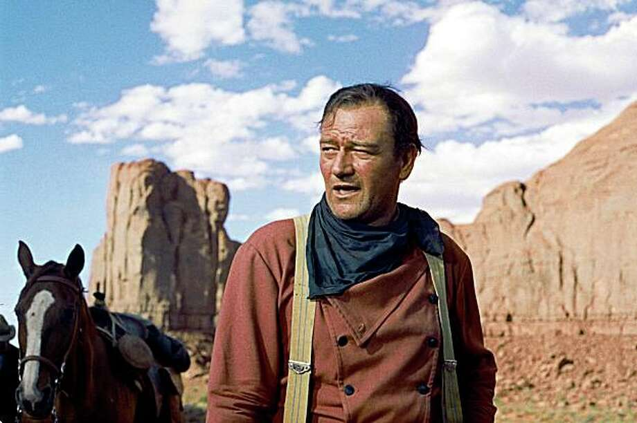 John Wayne in THE SEARCHERS Photo: Warner Bros., AP