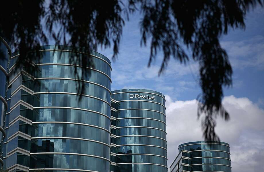 REDWOOD SHORES, CA - MARCH 25:  The Oracle logo is displayed on the company's headquarters on March 25, 2011 in Redwood Shores, California.  Oracle reported a third quarter profit increase of 78 percent to $2.1 billion. Photo: Justin Sullivan, Getty Images