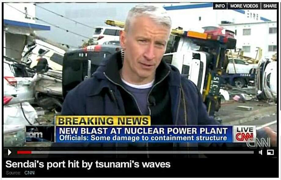 CNN's Anderson Cooper reports from Japan in the wake of the earthquake and tsunami that struck on Thursday, March 10, 2011 (pst). Photo: CNN.com