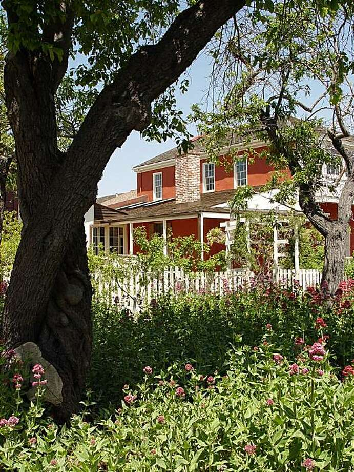 The Cooper House in Monterey, Calif., is seen in this 2008 photo. Photo: Michael D. Green, California State Parks