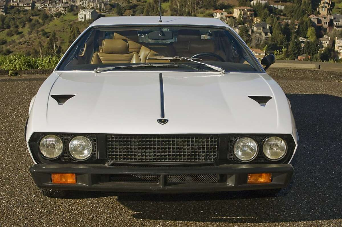 Espada is the name for the ceremonial sword used by bullfighters to dispatch bulls, and it's also the name of the Lamborghini four-seat touring sedan that was made from 1968 to 1978.