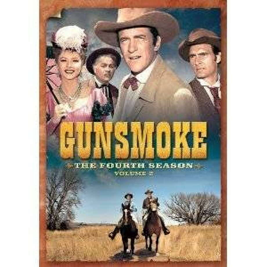 GUNSMOKE: SEASON FOUR, VOLUME TWO dvd cover Photo: Amazon.com