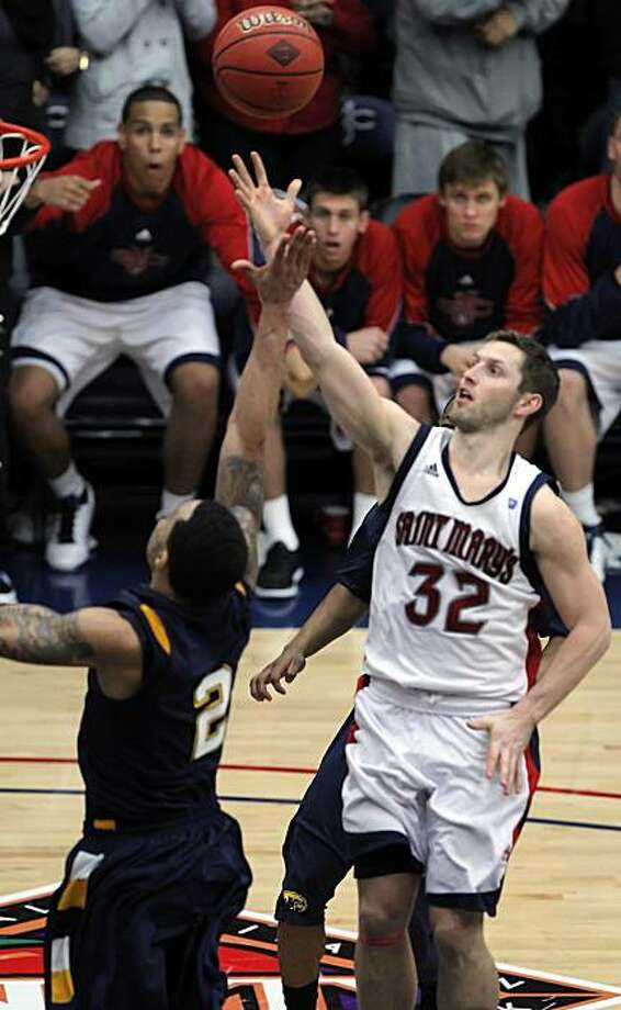 Mickey McConnell misses the potential game-winning shot in the final second and the Gaels fall to Kent State, 71-70, in the first round of the NIT. Photo: Carlos Avila Gonzalez, The Chronicle