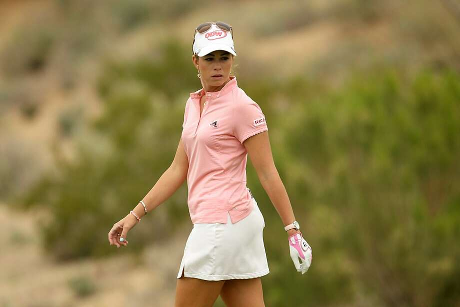 PHOENIX, AZ - MARCH 20:  Paula Creamer walks on the sixth green during the final round of the RR Donnelley LPGA Founders Cup at Wildfire Golf Club on March 20, 2011 in Phoenix, Arizona. Photo: Stephen Dunn, Getty Images