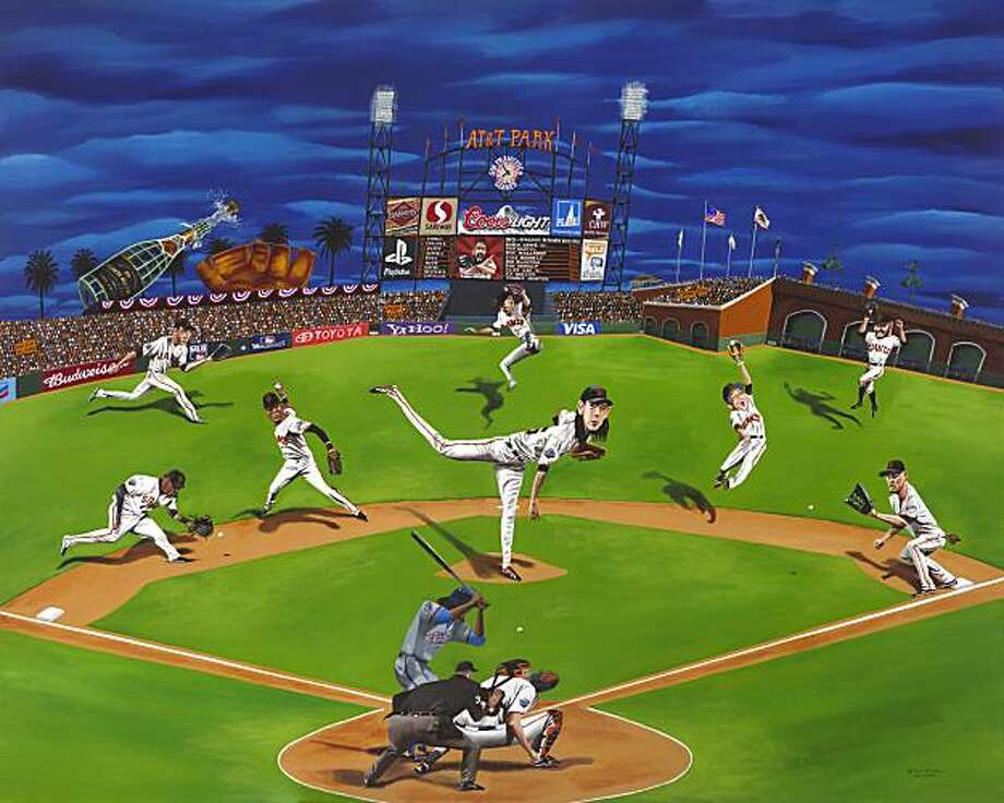 """Your 2010 World Champions San Francisco Giants"" by Mark Ulriksen Photo: Courtesy Of Mark Ulriksen"