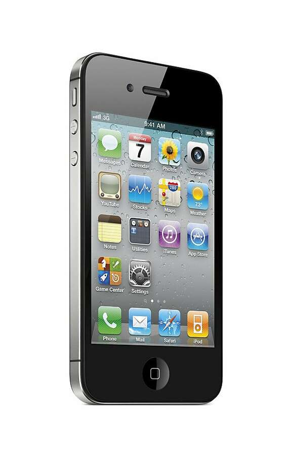 This product image provided by Apple Inc., shows the Verizon iPhone 4G. Photo: Apple Inc., Associated Press