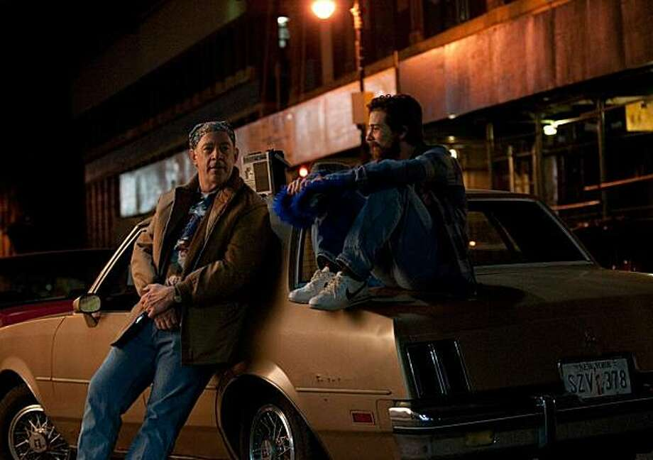 """J. K. Simmons and Lou Taylor Pucci appear in a scene from, """"The Music Never Stopped."""" Photo: Roadside Attractions"""